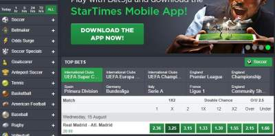how to select matches on bet9ja