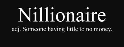quote for someone who is completely broke