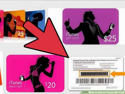 how to use the iTunes Gift Card