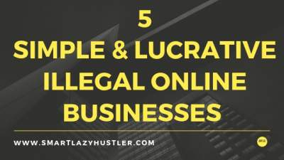illegal online business