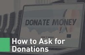 polite way to ask for money donations blog post image