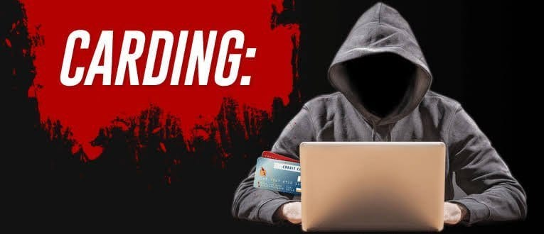 carding: to use stolen credit card numbers