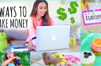 how to make money as an attractive female blog post image