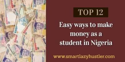 how to make money as a student in Nigeria blog post image