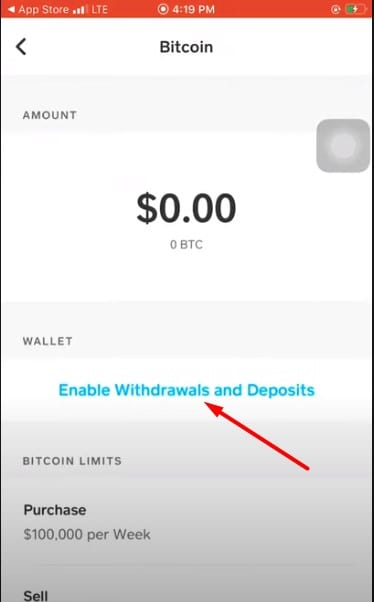 how to verify bitcoin on CashApp