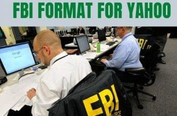 FBI format for yahoo