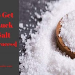 how to get good luck with salt