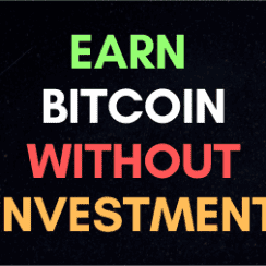 how to earn bitcoin without investment blog post