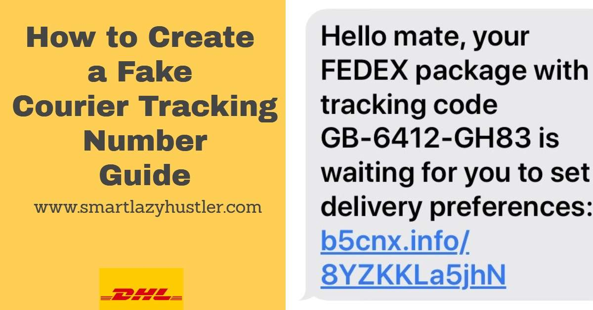 how to create a fake courier tracking number featured image