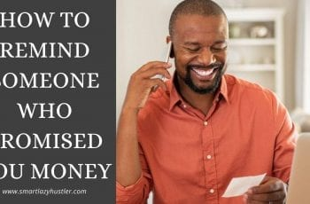 how to remind someone who promised to send you money