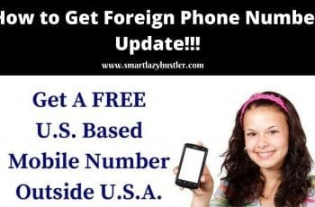 how to get foreign phone number for yahoo