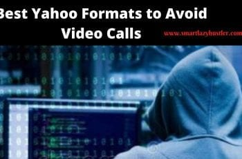 yahoo format to avoid video call